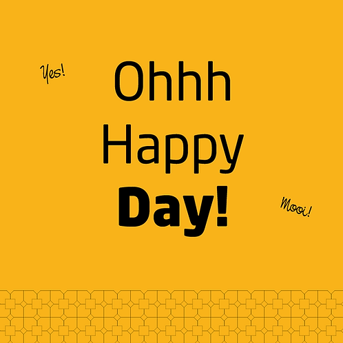 KAART 'Oh happy day'