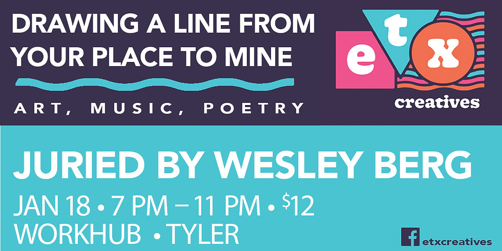 Drawing a Line from Your Place to Mine - Art, Music, & Poetry