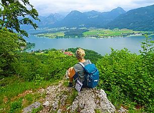 סובב אגם זאלצקמרגוט באוסטריה