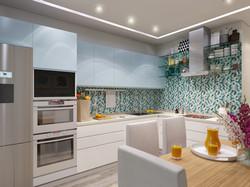 Palm Suites Kitchen
