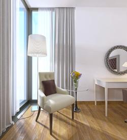 Palm Suites Bedroom