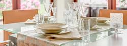 Lamu Villa Dining Area