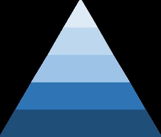 pyramide des personnes concernées par le Plan Local d'Urbanisme de la Ville de Vincennes, certains directement concernés et menacés d'expropriation