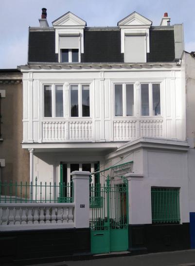 Maison en emplacement réservé