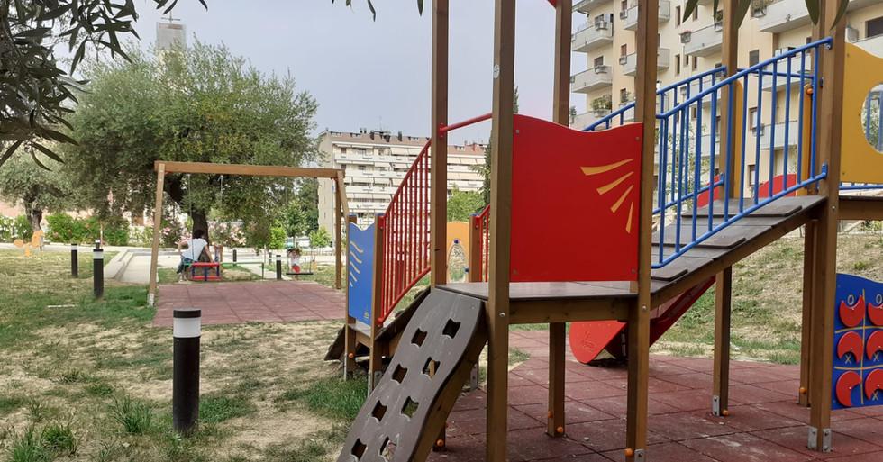Aree verdi - arredi e parchi gioco