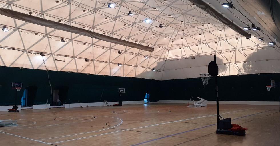 Ravenna - palestra polifunzionale in parquet sportivo