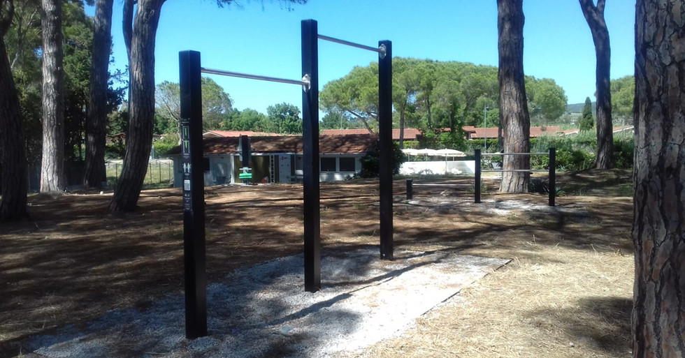 Attrezzi fitness outdoor