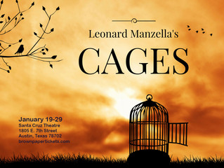 CAGES Cast begins rehearsing for January performance!