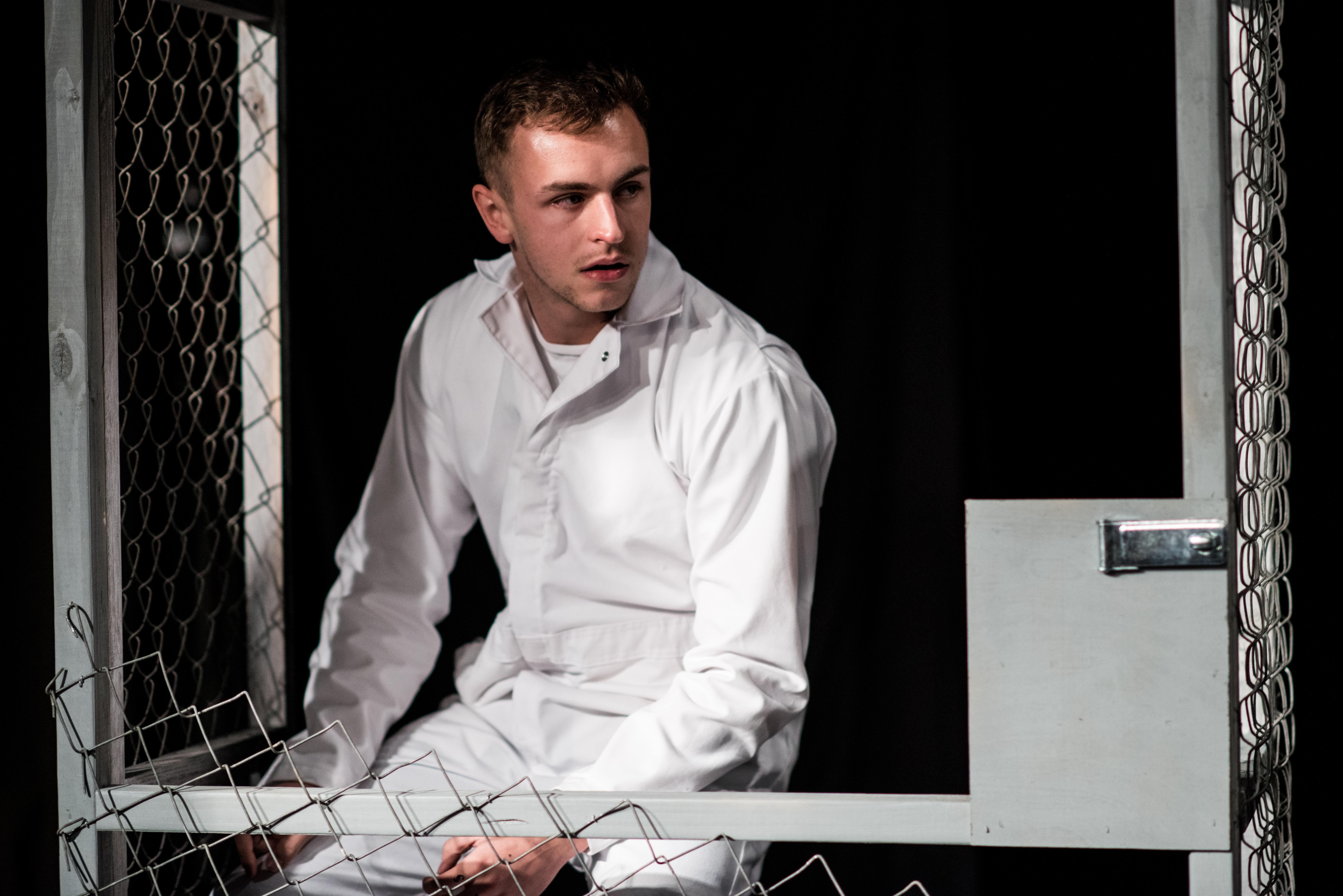 Sam in Cage