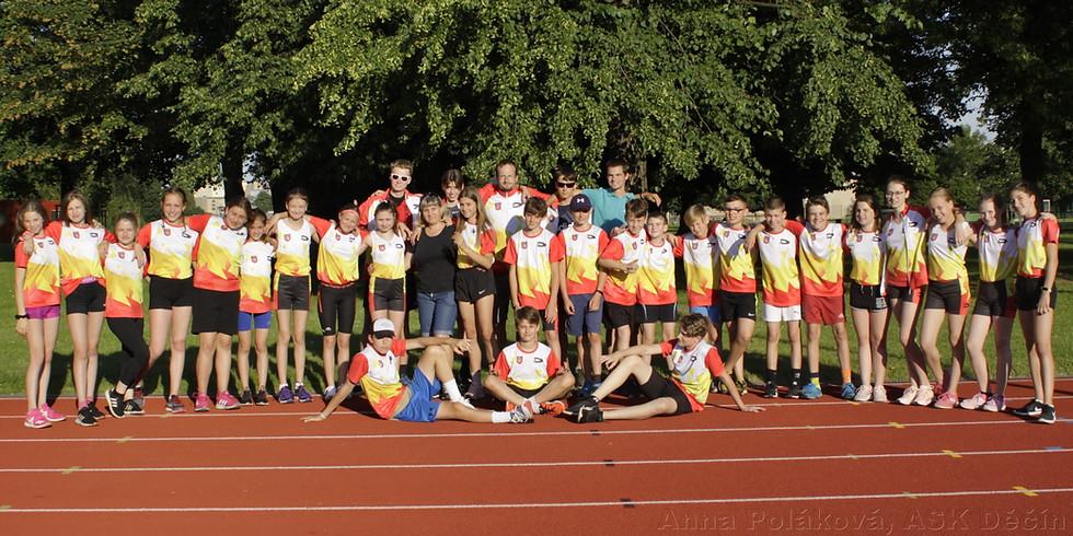 1. kolo Krajského přeboru družstev mladšího žactva - sk. Východ