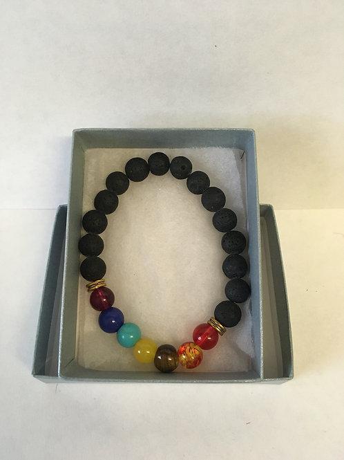 Aromatherapy Bracelet with lava beads