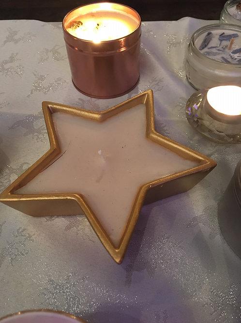 Vanilla Star Candle