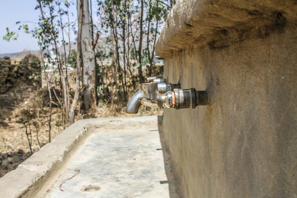 Lack of running water in ethiopian schools