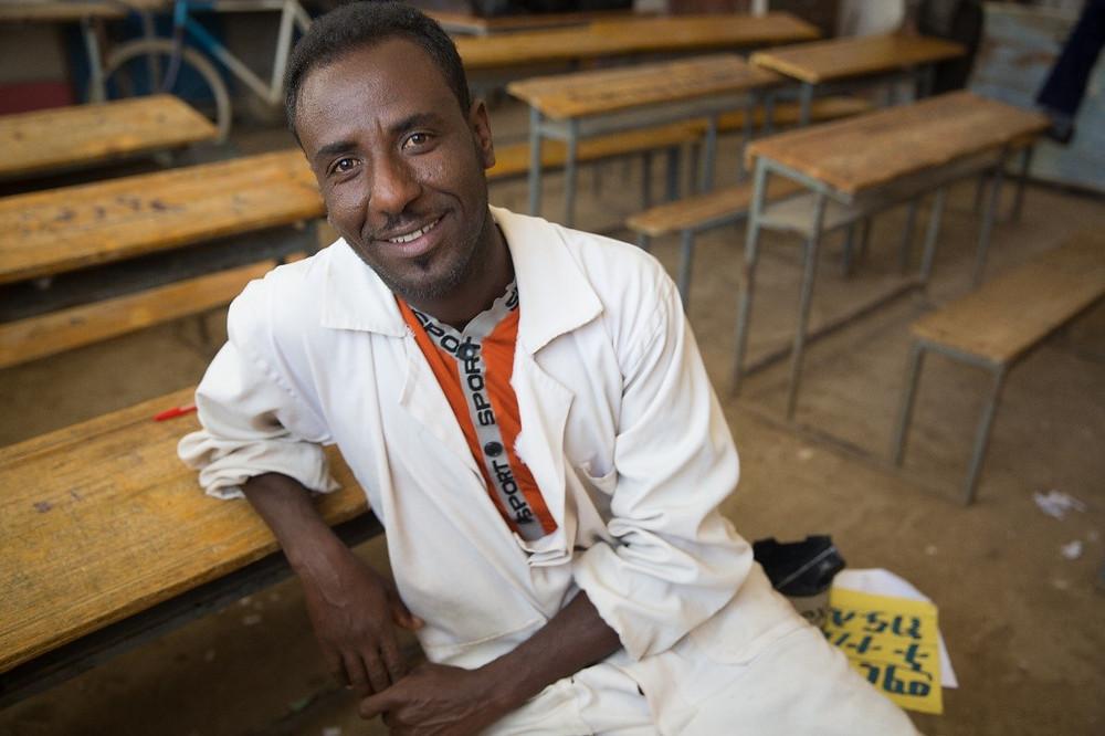 ethiopian father