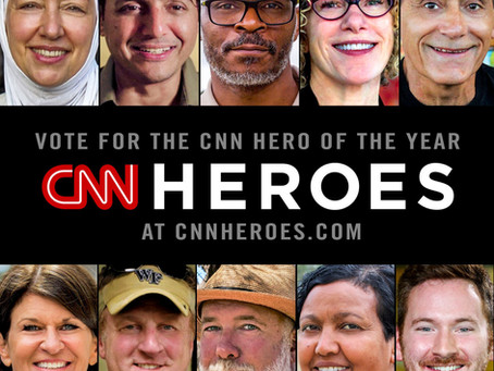 Freweini named Top 10 CNN Hero Finalist!