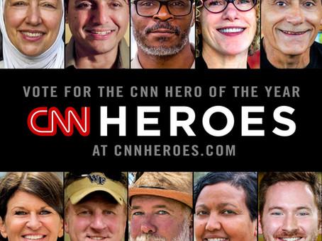 Freweini named Top 10 CNN Hero Finalist!