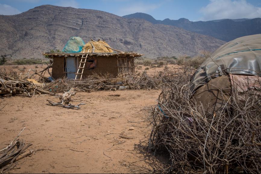 Village of Mota in Ethiopia. Dignity Period.