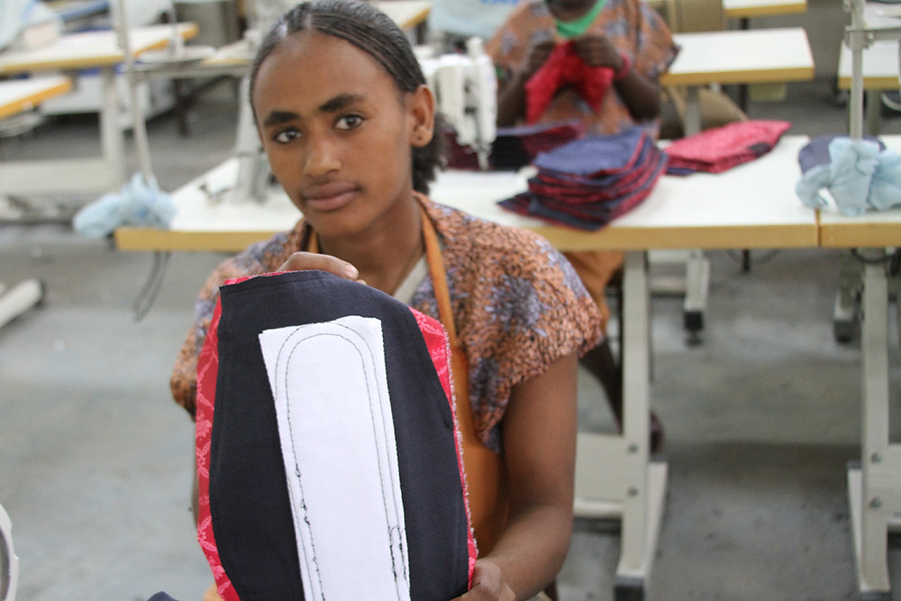 Menstruation supplies for ethiopian girls