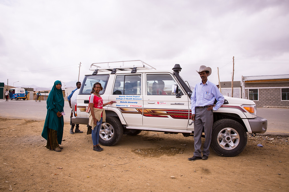 dignity period ethiopia off road vehicles to reach remote places