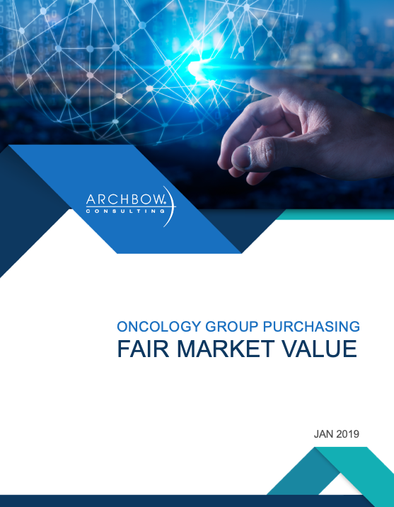 oncology gpo fair market value report