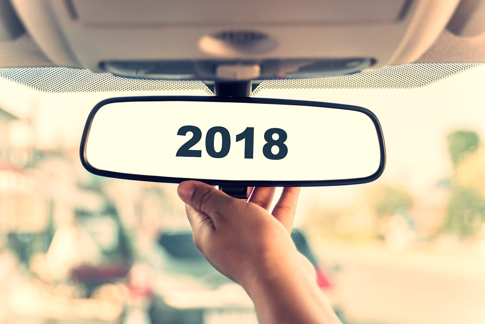2018 in the rear view mirrow