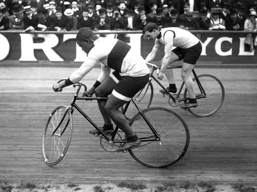 Major Taylor: This Man Could Ride a Mile in a Minute and a Half on a Huffy....