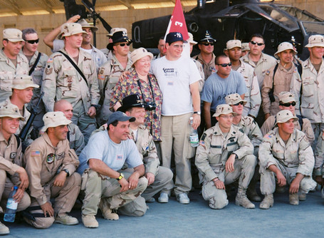 Drew Carey in Iraq 2003-2004: What a Great Guy!