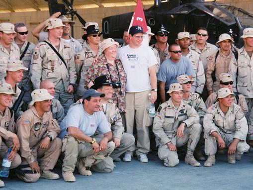 Drew Carey in Iraq 2003-2004: What a Great Guy!