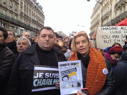 Protection Manif Charlie