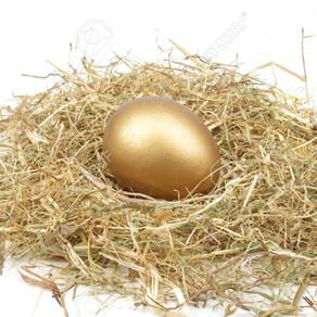 金の卵とガチョウのお話について