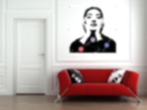 maria callas vinyl scuplture duhamel yannick tableaux déco art