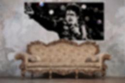michael jackson vinyl scuplture duhamel yannick tableaux déco art