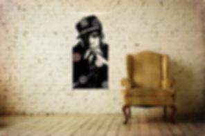 Jay Z vinyle tableau sculpture duhamel