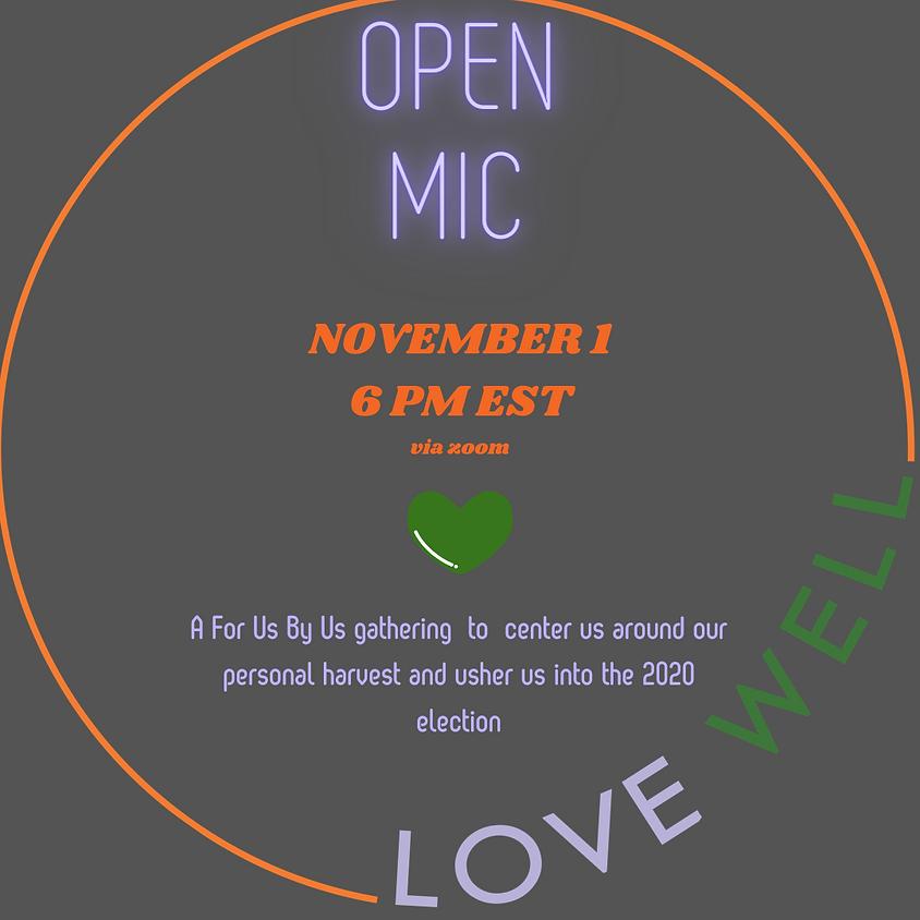 LoveWell Open Mic Night