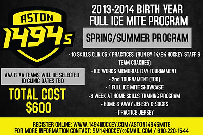 Aston 1494s Full Ice Mite Spring Summer