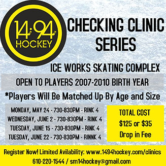 2021 Spring Checking Clinic - Made with