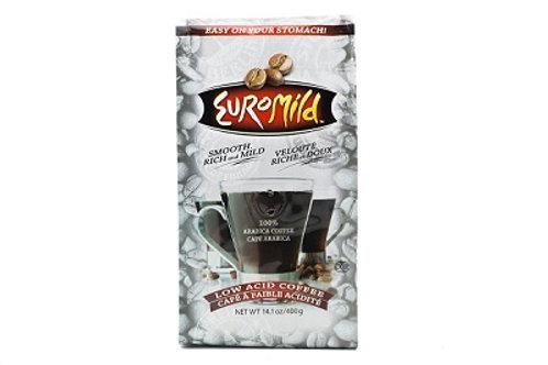 Euromild 100% Naturally Acid Free Regular Coffee 14.oz