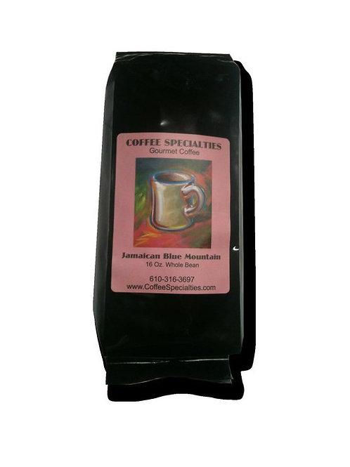 100% Pure Jamaican Blue Mountain Coffee