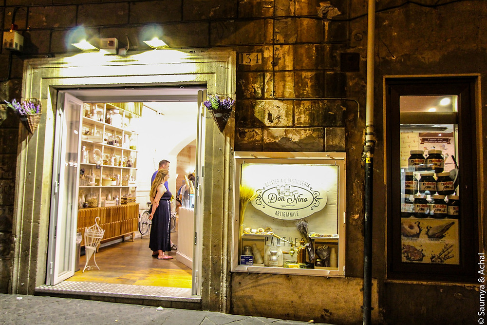 Gelato @ Don Nino, Rome