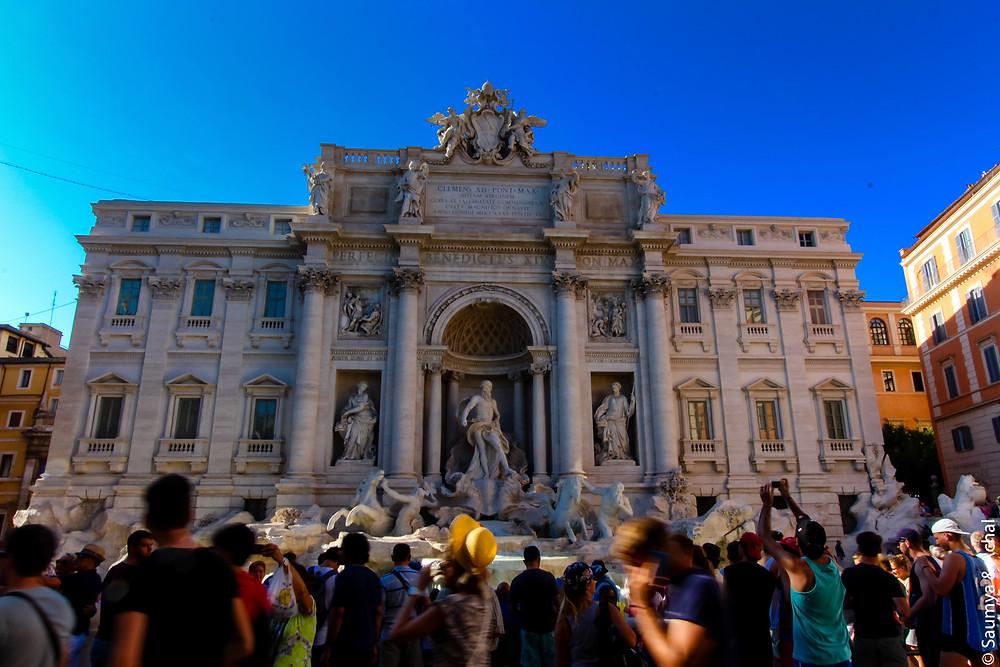 Fontana de Trevi, Rome