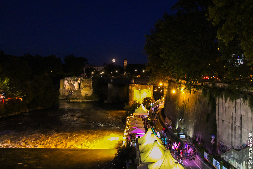 Tiber Festival, Rome