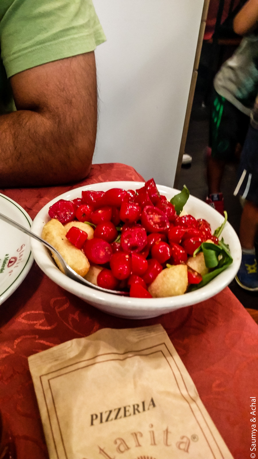 Salad @Starita, Naples