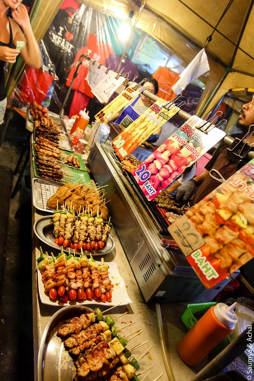 Night market @ Krabi Town