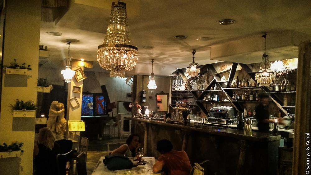 Ak Bar, Trastevere, Rome