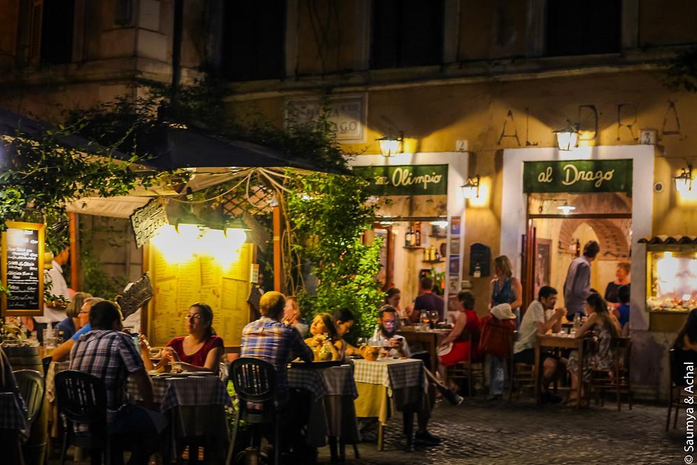 Il Ponentino, Trastevere, Rome