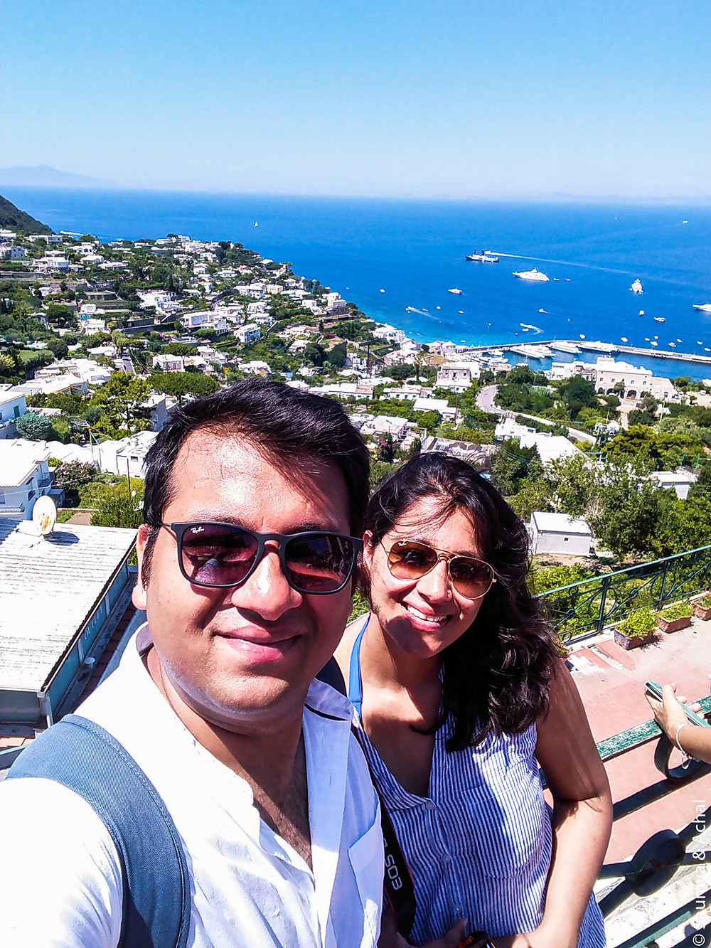 View from Capri