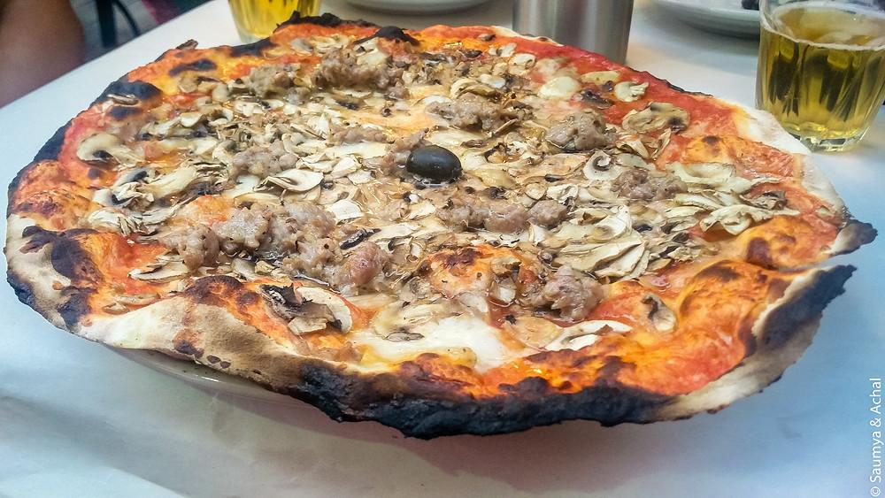 Pizza @ Pizzeria Remo, Testaccio, Rome