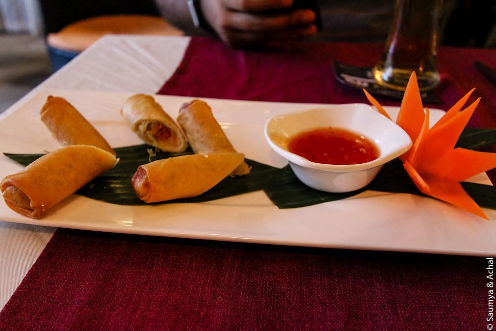 Food at Bussaba Thai
