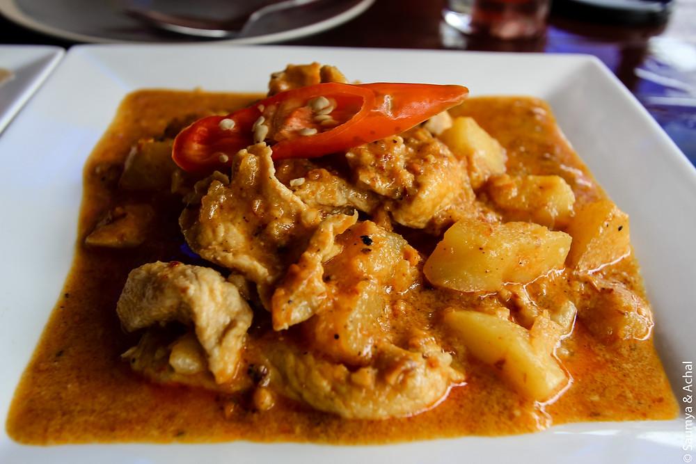 Food at Massaman