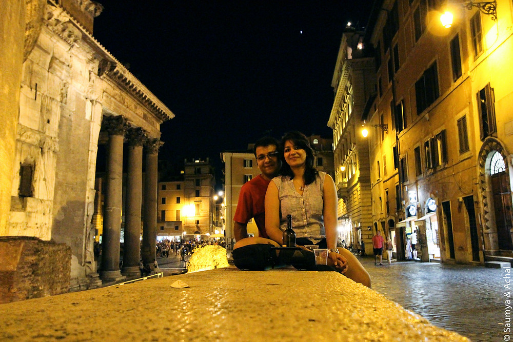 Chilling @ Pantheon, Rome